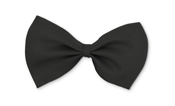 Bow Tie Formal Wear for Dogs - Black