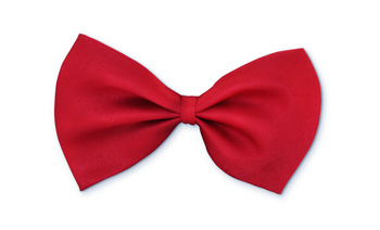 Bow Tie Formal Wear for Dogs - Red